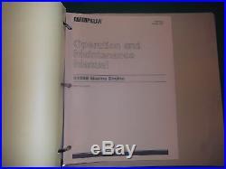 Cat Caterpillar 3406e Marine Engine Service Shop Repair Book Manual S/n 9wr1-up