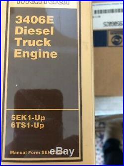 Cat Caterpillar 3406e Truck Engine Service Shop Repair Manual