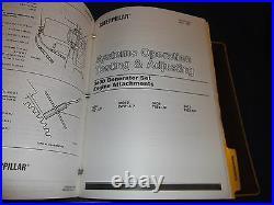 Cat Caterpillar 3408 3412 Generator Service Shop Repair Manual Book 2bg 78z 81z