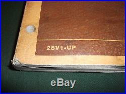 Cat Caterpillar 3408 Diesel Truck Engine Service Shop Repair Manual Book S/n 28v