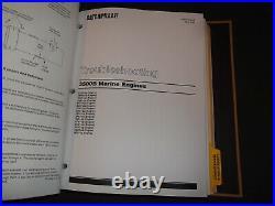 Cat Caterpillar 3508b 3512b 3516b Marine Engine Service Shop Repair Manual Book