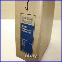 Cat Caterpillar 365b L Bagger Crawler System Reparatur Laden Service Manual Buch
