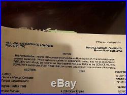 Cat Caterpillar 416 426 436 Backhoe Loader Shop Service Repair Manual SENR3160