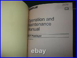 Cat Caterpillar 583t Pipelayer Service Shop Repair Book Manual S/n Cmx00001-up