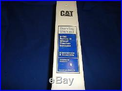 Cat Caterpillar 615c Series II Tractor Scraper Service Shop Repair Book Manual