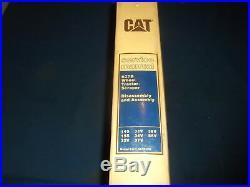 Cat Caterpillar 627b Wheel Tractor Scraper Service Shop Repair Book Manual
