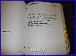 Cat Caterpillar 657e Wheel Tractor Scraper Service Shop Repair Book Manual Vol 2