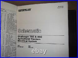 Cat Caterpillar 65c 70c 75c 85c Challenger Tractor Service Shop Repair Manual