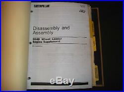 Cat Caterpillar 904b Compact Wheel Loader Service Shop Repair Manual Book