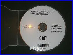 Cat Caterpillar 926m 930m 938m Wheel Loader Service Shop Repair Manual CD Set