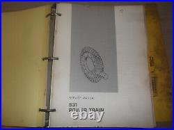 Cat Caterpillar 931 Track Loader Service Shop Repair Manual Book S/n 10n 78u