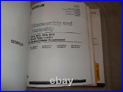 Cat Caterpillar 943 953 Track Type Loader Service Shop Repair Manual
