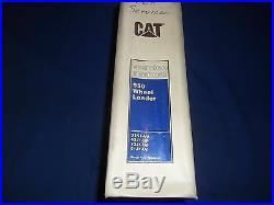 Cat Caterpillar 950 Wheel Loader Service Shop Repair Book Manual 31k 43j 73j 81j