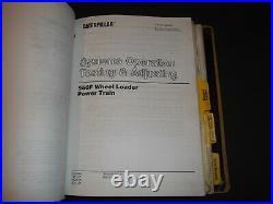 Cat Caterpillar 950f Series I Wheel Loader Shop Repair Service Manual 4dj 6yg 7z