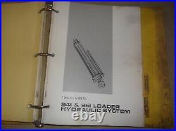 Cat Caterpillar 951 Track Loader Service Shop Repair Manual Book S/n 86j 69h 32f