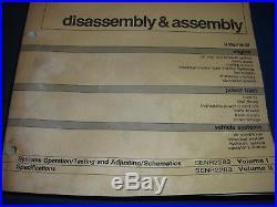 Cat Caterpillar 963 Track Loader Dis/assembly Service Shop Repair Book Manual