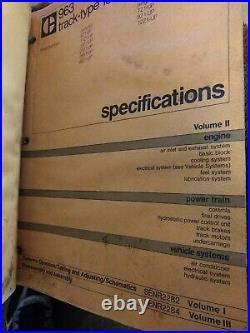Cat Caterpillar 963 Track Type Loader Shop Repair Service Manual