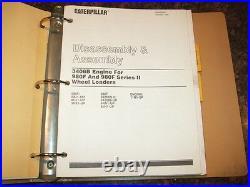 Cat Caterpillar 980f & 980f Series II Wheel Loader Shop Repair Service Manual