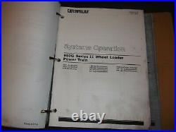 Cat Caterpillar 980g Series II Wheel Loader Repair Service Manual I Ayt Axg Awh