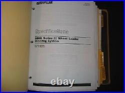 Cat Caterpillar 980g Series II Wheel Loader Repair Service Manual Vol 2 Axg Awh