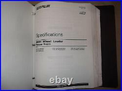 Cat Caterpillar 980h Wheel Loader Service Shop Repair Manual Book Vol I