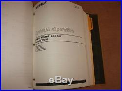 Cat Caterpillar 988g Wheel Loader Shop Repair Service Manual Bnh1 2tw1-up Vol 1