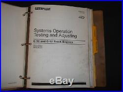 Cat Caterpillar C-10 C-12 Truck Engine Service Shop Repair Manual S/n 2ks 3cs