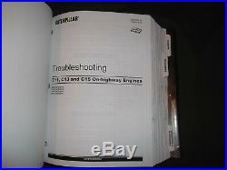 Cat Caterpillar C15 Engine Service Shop Repair Manual Book S/n Bxs Mxs Nxs Rks