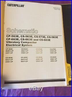 Cat Caterpillar CS-563E CP-563E Vibratory Compactor Shop Service Repair Manual
