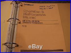 Cat Caterpillar Cb-214/b Cb-224/b Vibratory Compactor Service Shop Repair Manual