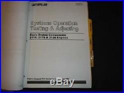 Cat Caterpillar Challenger 35 45 55 Tractor Service Shop Repair Manual Book