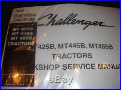 Cat Caterpillar Challenger Mt425b Mt445b Mt455b Tractor Service Repair Manual V2
