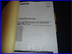 Cat Caterpillar D10t Crawler Tractor Dozer Service Shop Repair Book Manual