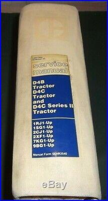 Cat Caterpillar D4b D4c II Dozer Track Type Tractor Service Repair Shop Manual