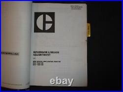 Cat Caterpillar D4h Dozer Service Shop Repair Manual Book 2ac 3ac 8pb 9db