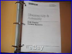 Cat Caterpillar D4h I II III Tractor Dozer Service Shop Repair Book Manual