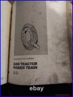 Cat Caterpillar D4h Tractor 2ac 3ac 8pb 9db Shop Service Manual Catalog