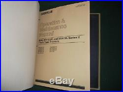 Cat Caterpillar D5h Series I & II Tractor Dozer Service Shop Repair Book Manual