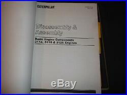 Cat Caterpillar D5m Tractor Dozer Service Shop Repair Book Manual 6gn 5es 3cr 6a