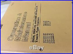 Cat Caterpillar D6H/D6H Series II Tractor Service Shop Repair Manual SENR3235