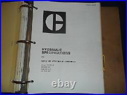 Cat Caterpillar D6c Crawler Tractor Dozer Service Shop Repair Book Manual