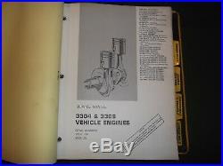 Cat Caterpillar D6c Tractor Dozer Service Shop Repair Book Manual
