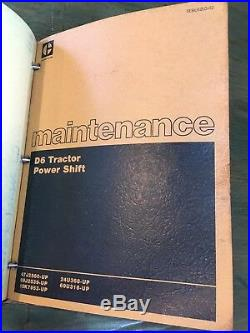 Cat Caterpillar D6c Tractor Repair Service Manual