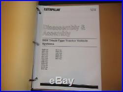 Cat Caterpillar D6h & D6h Series I & II Tractor Dozer Repair Service Manual