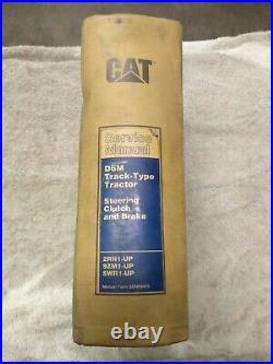 Cat Caterpillar D6m Tractor Shop Repair Service Manual Track Type Tractor Used