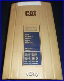 Cat Caterpillar D6r Series II Tractor Dozer Service Shop Repair Book Manual