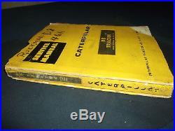 Cat Caterpillar D8h Crawler Tractor Dozer Service Shop Repair Manual 35a 36a 46a