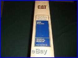 Cat Caterpillar D8h Crawler Tractor Dozer Service Shop Repair Manual 36a 46a 68a