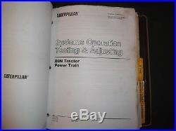 Cat Caterpillar D8n Tractor Dozer Service Shop Repair Book Manual 9tc 1xj 5tj