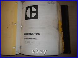 Cat Caterpillar D8n Tractor Dozer Service Shop Repair Book Manual S/n 9tc1-up